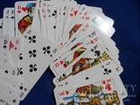 Карты игральные Германия с логотипом фирмы Volksfursorge 2 колоды по 55 шт в колоде лот 1, фото №6