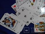 Карты игральные Германия с логотипом фирмы Volksfursorge 2 колоды по 55 шт в колоде лот 1, фото №7
