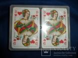 Карты игральные Германия с логотипом фирмы Volksfursorge 2 колоды по 55 шт в колоде лот 1, фото №8