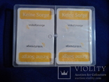 Карты игральные Германия с логотипом фирмы Volksfursorge 2 колоды по 55 шт в колоде лот 1, фото №10