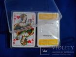 Карты игральные Германия с логотипом фирмы Volksfursorge 2 колоды по 55 шт в колоде лот 1, фото №12