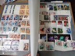 Большой кляссер с марками  и блокамиСССР+бонус, фото №4