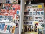 Большой кляссер с марками  и блокамиСССР+бонус, фото №6