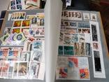 Большой кляссер с марками  и блокамиСССР+бонус, фото №8