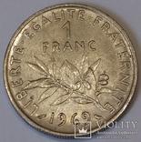 Франція 1 франк, 1969