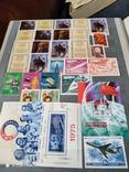 Большой кляссер с марками  и блокамиСССР+бонус, фото №2