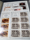 Большой кляссер с марками  и блокамиСССР+бонус, фото №5