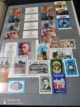 Большой кляссер с марками  и блокамиСССР+бонус, фото №9