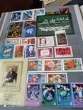 Большой кляссер с марками  и блокамиСССР+бонус, фото №12