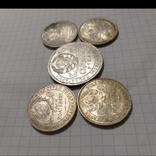4 полтинника 24,25,26,27 г. и  рубль 24 г. (см.фото в коментариях)., фото №8