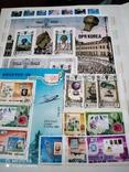 Большой кляссер с марками и блоками Европы+бонус, фото №4