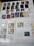 Большой кляссер с марками и блоками Европы+бонус, фото №7