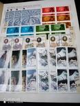 Большой кляссер с марками и блоками Европы+бонус, фото №9