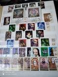 Большой кляссер с марками и блоками Европы+бонус, фото №11
