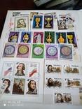 Большой кляссер с марками и блоками Европы+бонус, фото №12