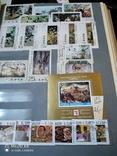 Большой кляссер с марками и блоками Европы+бонус, фото №3