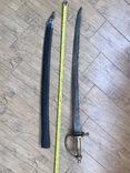 Клинок з ножнами. копия, фото №2