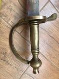 Клинок з ножнами. копия, фото №4