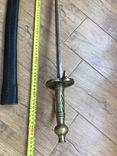 Клинок з ножнами. копия, фото №6