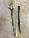 Клинок з ножнами. копия, фото №7
