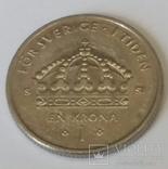 Швеція 1 крона, 2008 фото 2
