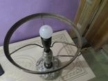 Настольная лампа  зеленый плафон, фото №13