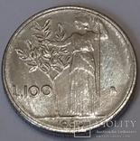 Італія 100 лір, 1990