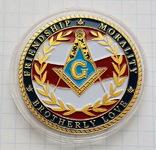 Жетон масонский №2, фото №2