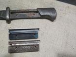 Огнеупорная пластина штык ножа Поляк WZ-24 копия, фото №7