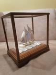 Парусник яхта серебро серебряная, фото №2