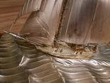 Парусник яхта серебро серебряная, фото №9