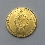Дукат 1841 года. Венгрия. UNC., фото №3