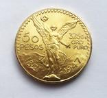 50 песо 1947 года. Мексика. UNC., фото №2