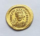 Солид Юстина 1. Византия. UNC., фото №2