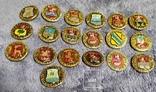 19 значков из серии Золотое кольцо России, фото №3