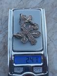 Серебро крестик, фото №4