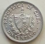 1 сентаво 1969 г. Куба, фото №3