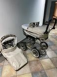 Детская коляска классическая Emmaljunga Edge Duo Combi (Швеция), фото №8
