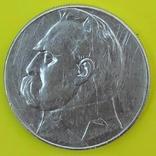 10 Злотих 1935р. Срібло., фото №2