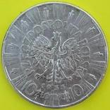10 Злотих 1935р. Срібло., фото №3