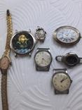 Одним лотом Часы на запчасти Винтаж, фото №3