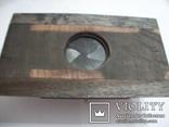 Объектив индустар-37 вместе с затвором с деревянной камеры, фото №4
