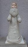 Снегурочка папье-маше,рост 34 см, фото №2