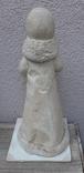 Снегурочка папье-маше,рост 34 см, фото №5