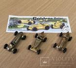 """Машинки """"Ferrero"""" / Goldene Zeiten / Киндер Сюрприз / Комплект 3 шт. / №4, фото №2"""