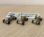 """Машинки """"Ferrero"""" / Goldene Zeiten / Киндер Сюрприз / Комплект 3 шт. / №4, фото №5"""