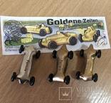 """Машинки """"Ferrero"""" / Goldene Zeiten / Киндер Сюрприз / Комплект 3 шт. / №4, фото №6"""