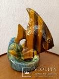 Рыба,Гжель,облившая керамика., фото №2