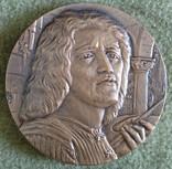 Настольная медал Джорджоне 1978г.., фото №2