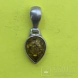 Кулон Срібло 925 1,13 грам., фото №2